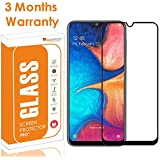 OpenTech® Edge to Edge Tempered Glass Screen Protector for Samsung Galaxy M30s / M30 / A30 / A50 / A50s with Installation kit