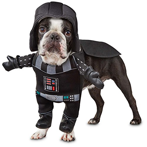Star Wars Darth Vader Illusion Hundekostüm, m (Star Wars Darth Vader Pet Kostüm)