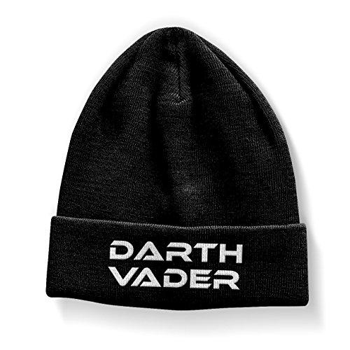 Offizielles Lizenzprodukt Darth Vader Beanie (Schwarz)