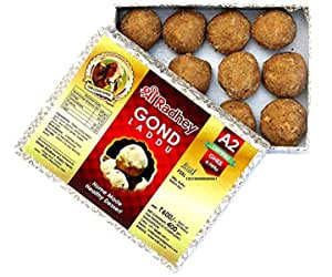 Shree Radhey Gir Cow ghee Home Made Gond Laddu, 400 g