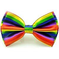 Seta finire Moda Cravatta a farfalla. Dicky pre-legato elastico per (Oro A Strisce Cravatta)