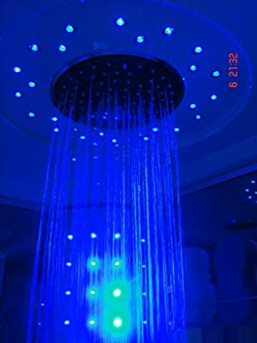 Shower Ontarioo 9909 *Size:1000x1000x2200mm *4 acupuncture massage jets * 4 luxury side jets * Feet massager * Touch control panel with digital FM radio, High quality 5mm Sanitary Acrylic.