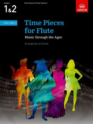 Time Pieces for Flute, Volume 1 Cover Image