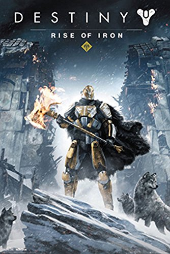 empireposter 745507 Destiny - Rise Of Iron - Videospiel Game Poster Plakat Druck, Papier, Bunt, 91.5 x 61 x 0.14 cm (Ps3-mmo)
