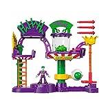 Imaginext - DC Super Friends Batman Fábrica de risas del Joker Juguetes niños +3 años (Mattel GBL26)