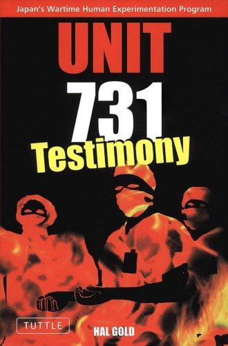 Unit 731: Testimony (English Edition)