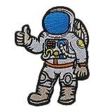Sharplace Aufnäher Aufbügler Patches Applikation Bügelbild Astronaut-Deisgn - Aufbügeln