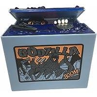 Preisvergleich für grandey Godzilla Monster Dinosaurier beweglichen Musical Elektronische chirldren Münze Geld sparen Sparschwein Box