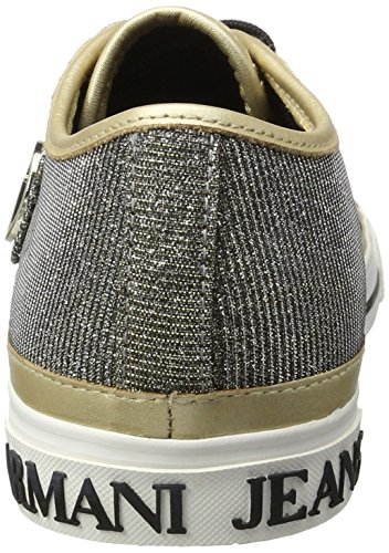 Armani Jeans 9252267p615, Sneakers basses femme Gold (oro)