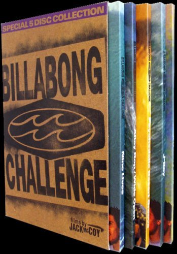 The Billabong Challenge 5-DVD Box Set - Region Free [Surfing] (Billabong-box)