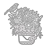 kaidengflower panier coupe matrices pochoir bricolage scrapbooking gaufrage album papier carte