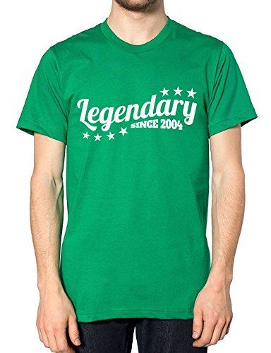 Legendäre seit 2004T Shirt Grün - Grün - Irish Green