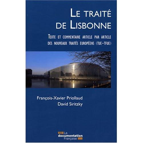 Le traité de Lisbonne : Commentaire, article par article, des nouveaux traités européens (TUE et TFUE)