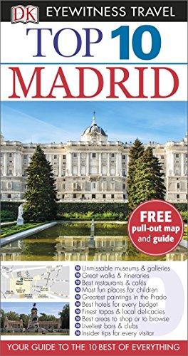DK Eyewitness Top 10 Travel Guide. Madrid