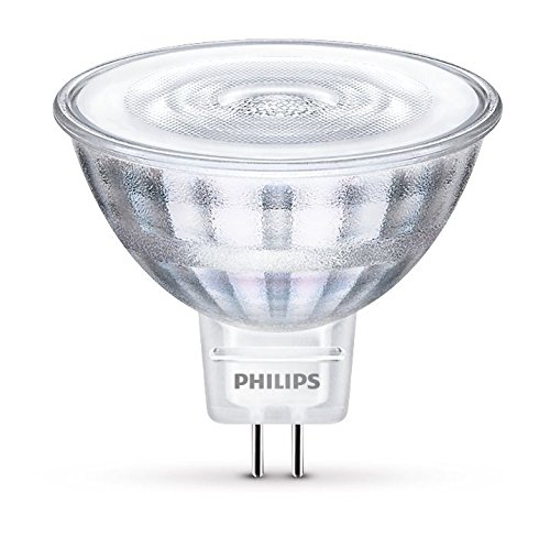 Philips ampoule LED GU5.3 5W Equivalent 35W Blanc chaud Compatible Variateur