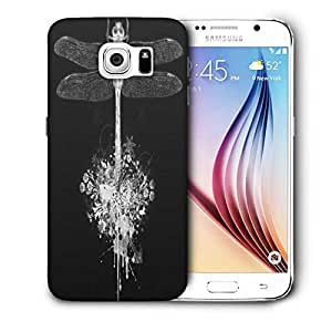 Snoogg Dragonfly Printed Protective Phone Back Case Cover For Samsung Galaxy S6 / S IIIIII