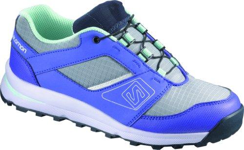 Kinder Sneaker Salomon Outban Sneakers Boys light onix/light spectrum/igloo blue