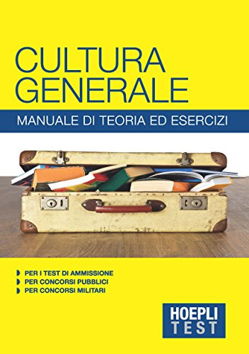 Zoom IMG-2 hoepli test cultura generale manuale