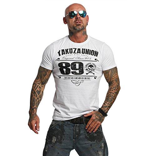 Yakuza Original Herren 893 Union T-Shirt (Label Vintage Union)