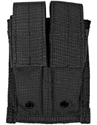 Flyye Doble 9mm Cargador Bolsa MOLLE Negro