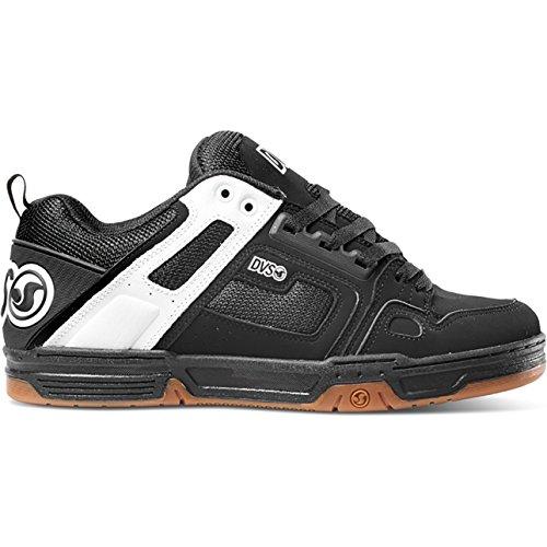 Dvs Footwear Mens Comanche da Uomo Black/White Nubuck