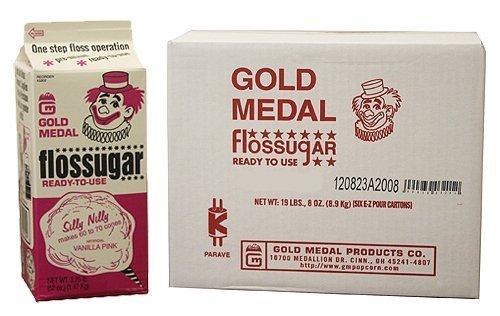 vanilla-pink-flossugar-6-1-2-gallon-cartons-case-by-gold-medal