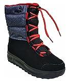 PUMA Kinder Winter-Boots GORE-TEX BORRASCA III GTX WTR 303849, 36, black-dark shadow-high risk red