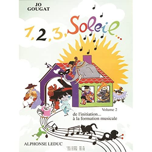 1, 2, 3, Soleil... de l'Initiation a la Formation Musicale Vol 2/3 2cd