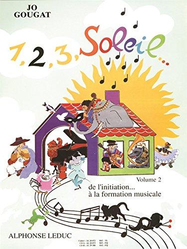 1, 2, 3, Soleil. de l'Initiation a la Formation Musicale Vol 2/3 2cd
