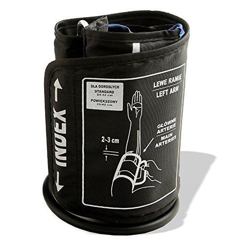 GESS® Oberarm-Manschette für elektrische oder mechanische Blutdruckmessgeräte - EIN Kabel (24-32cm)