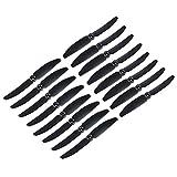 Original Gemfan 5030 5x4 Hélices 16 Piezas (8 CW, 8 CCW) Facil&co© - Negro - Original & Alta Calidad 5-Pulgadas Quadcoperos y Multirotor Drone Hélices
