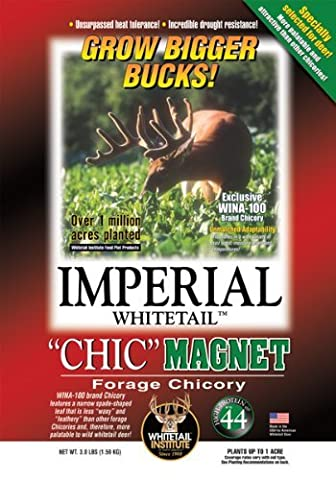 Whitetail Institute Imperial Chic Magnet Food Plot Seed, 3 lb by Whitetail Institute