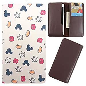 DooDa - For Gionee M2 PU Leather Designer Fashionable Fancy Case Cover Pouch With Card & Cash Slots & Smooth Inner Velvet