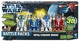 Star Wars Battle Packs Royal Starship Droids Star Wars Episode I - The Phantom Menace 3D von Hasbro
