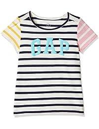 GAP Girls' Plain Regular Fit T-Shirt