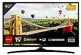 HITACHI 40HE4000 - Televisión LED FHD (40'), Color Negro