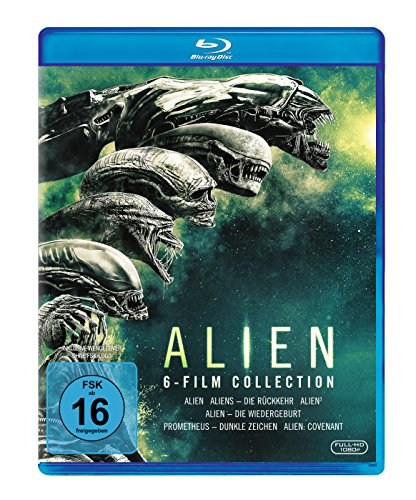 Alien 1-6 [Blu-ray] Blu-ray-upgrade