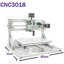Beautystar CNC DIY Router 3018 GRBL Máquina de Grabado, Working Area 300*180*45mm, PCB Milling Machine CNC Wood Metal Carving Mini Engraving Router PVC