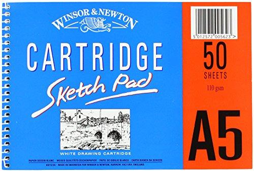 Winsor&Newton - Carta Cartridge Blocchi A Spirale A3 29,7 X 42,0 Cm - 50 Fogli