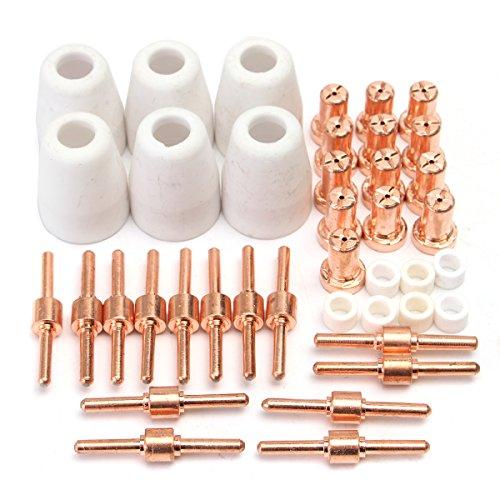 KUNSE 40Pcs Verbrauchsmaterialien Für Plasma Cutter 40D Cut40 Schweißgerät