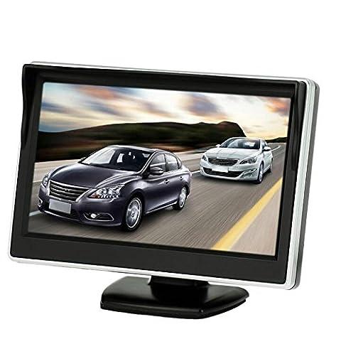 BW Auto-Monitor, 12,7cm (5 Zoll), HD 800x 480, Farbe TFT