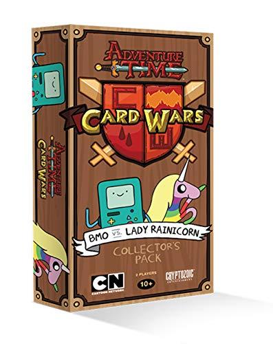 Cryptozoic Entertainment - 330359 - Jeu De Cartes - Adventure Time Card Wars - BMO Vs Lady Rainicorn