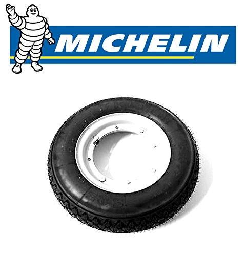 Michelin Kompletträder (Felgen + Reifen) für Vespa 50 PK XL, 2 Stück 2Felgen und Michelin-S83-Reifen, Dimension: 3.00-1042J, 2Luftkammern.