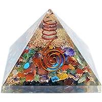 Humunize Multi-Stein-Pyramide mit Bleistift Orgon Pyramide Chakra-Energie-Generator Reiki Stein Fen Shui Geschenk preisvergleich bei billige-tabletten.eu