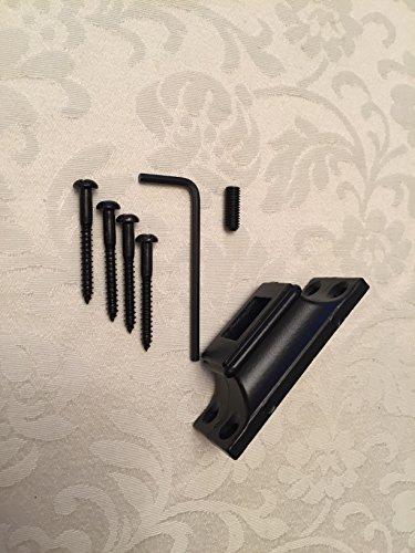 S.G Curtain Poles 16mm abgewinkelt Schuh Halterung für Eisen Treppe Spindeln