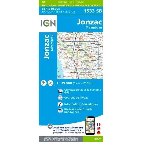 1533SB JONZAC/MIRAMBEAU