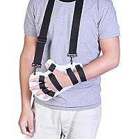 Cabestrillo Brazo con Férula Separador de dedos de mano ortesis Tablilla de  mano Soporte de fractura 9ff18db473b2