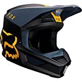Fox Helmet V-1 Mata Navy/Yellow L
