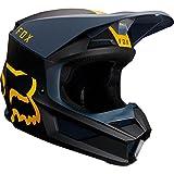 Fox Helm V-1 Mata Navy/Yellow, Größe M