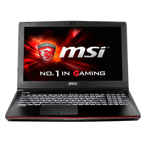 MSI Gaming GE62 2QC(Apache)-644FR - notebooks (i7-5700HQ, DVD Super Multi, Touchpad, Windows 10 Home, Lithium-Ion (Li-Ion), 64-bit, Nero)